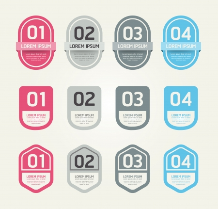 Modern Design Labels Stock Vector - 17997507