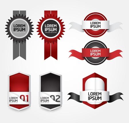 Modern Design Labels Stock Vector - 17997496