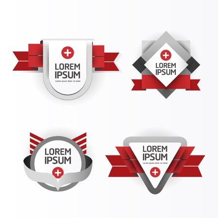 Modern Design modern Labels Stock Vector - 17997518