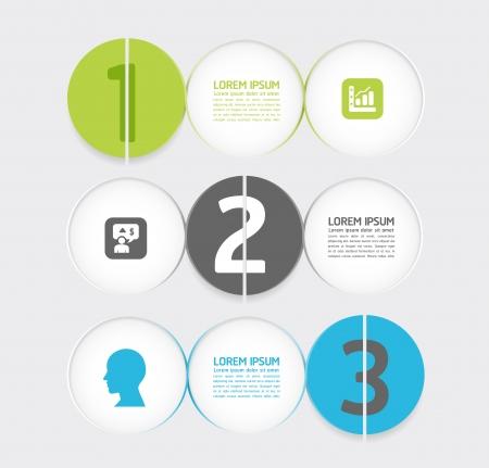 minimal: Dise�o de plantilla infograf�a estilo moderno y minimalista Vectores