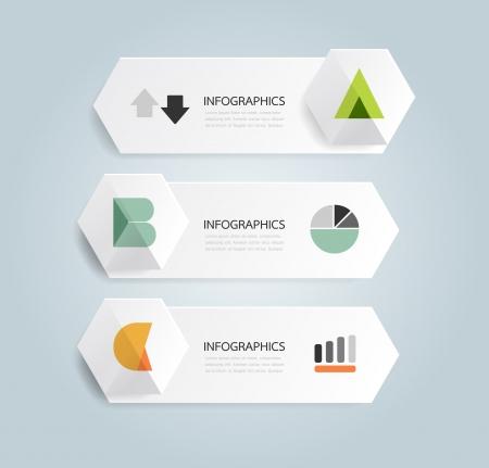 디자인: 알파벳 현대적인 디자인 최소한의 스타일 인포 그래픽 템플릿  사용할 수있는 인포 그래픽  번호 배너  가로 컷 아웃 라인  그래픽 또는 웹 사이트 레이아웃 벡터
