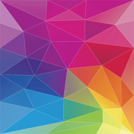 Abstract Geometric Triangle Background Vector  Vector