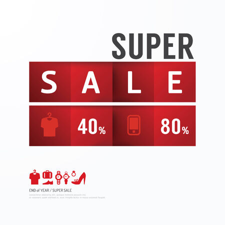 Sale Discount Icons Styled .Advertising Tag Banners. Vector Vector