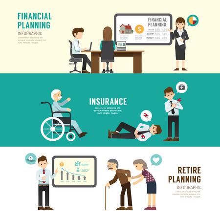 hombres ejecutivos: Diseño de negocios concepto de planificación