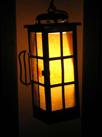 that: Old lantern that still gives some light