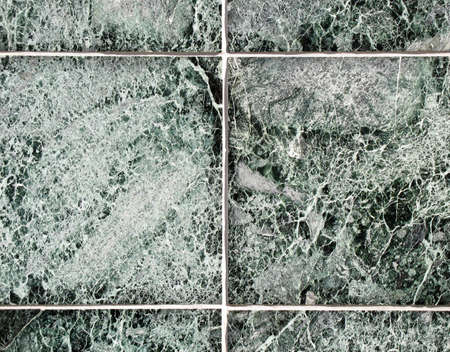 stoneware: Tile wall on a modern office building Stock Photo
