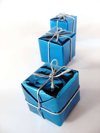 Christmas presents with very special gifts inside Stock Photo - 1978247