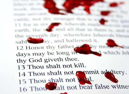 Thou shalt not kill - part of the Decadent Decalogue series