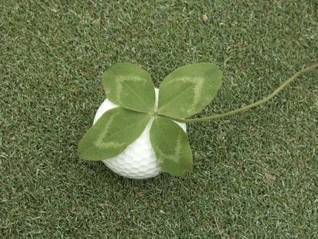 lucky golf ball
