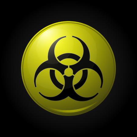 bio hazard: Bio hazard icon Illustration