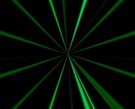 Groene Techno Abstract