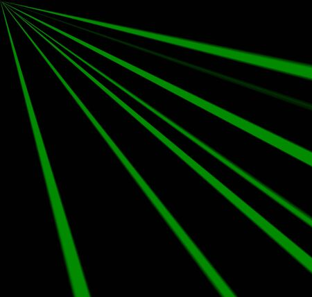 Green Neon Abstract Background