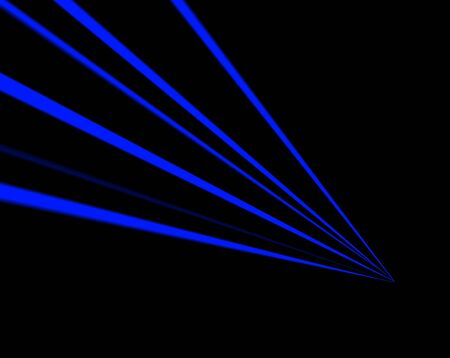 fragmented: Blue Neon Abstract Background Stock Photo