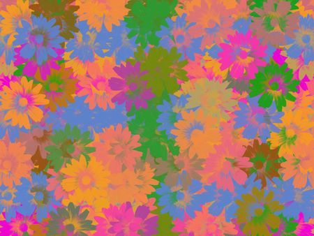 opulent: Pastel Floral Background Stock Photo