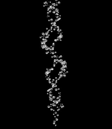 particles: Double Helix of Human DNA