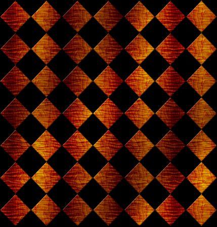 Birdseye view of marquetry wood floor pattern Stock Photo - 7529753
