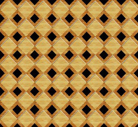 Birdseye view of marquetry wood floor pattern Stock Photo - 7529751