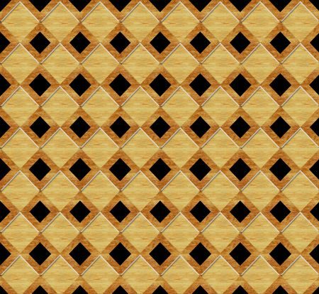 marquetry: Birdseye view of marquetry wood floor pattern Stock Photo