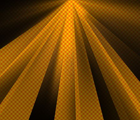 Abstract background of orange and yellow checkerboard mesh 版權商用圖片