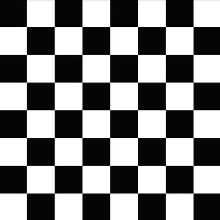 Black and white checkerboard, seamless