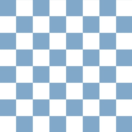 Blue and white checkerboard seamless pattern Stock Photo