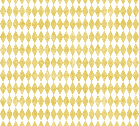 Elegant background of gilded harlequin on white