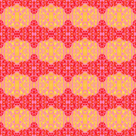 brigth: Brigth background pattern of pink and yellow on red