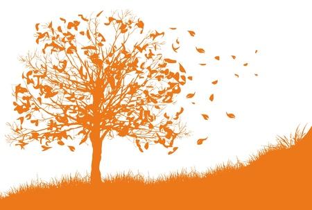 Seizoen Herfst Stock Illustratie
