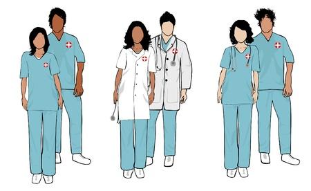 Doctor Series Ilustrace