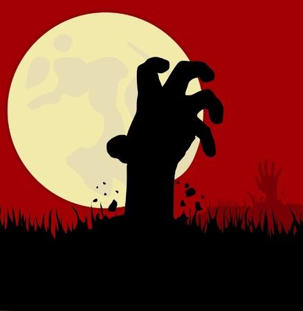 Zombie Hand Stockfoto - 10425279