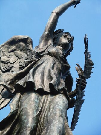 The Winged Victory Statue
