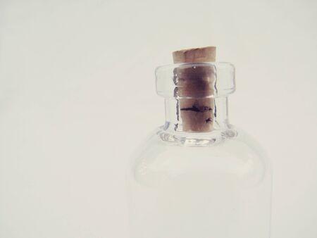 Empty Glass Bottle Isolated