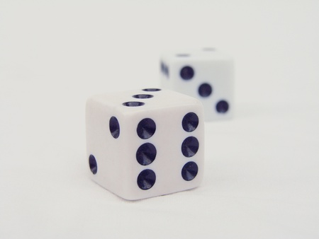 Dice Isolated Stock Photo - 10443631