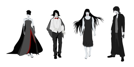 Vampire Collection Illustration