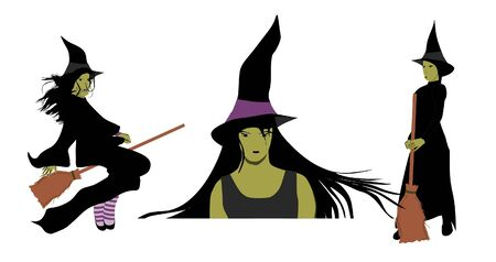 Witches Collection Illustration