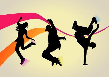 So You Wanna Dance? Stock Vector - 10573982