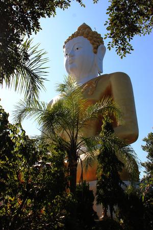Buddha statue in Thailand background Stock fotó