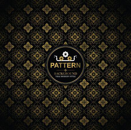 Line Thai, The Arts of Thailand, Thai pattern background. Reklamní fotografie - 90908032