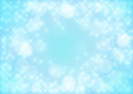 Star background, light tender blue, strewed stars.