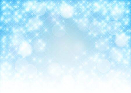 Star background, light tender blue, strewed stars.