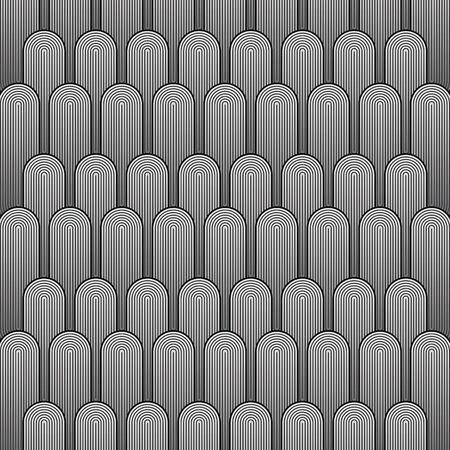 Pattern of modern style background. Illustration