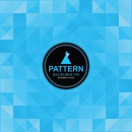 Pattern of modern style background. Vettoriali