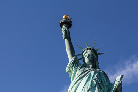 icone: Close Up Face The Statue of Liberty, New York, United States of America, NY, NYC, USA