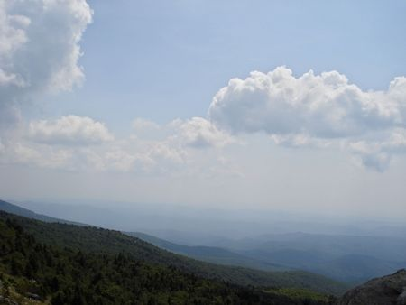 blue ridge: Blue Ridge Mountains Stock Photo