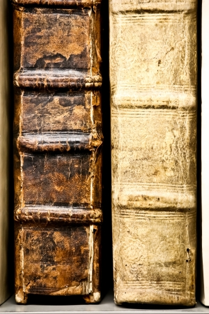 old books with beautiful texture