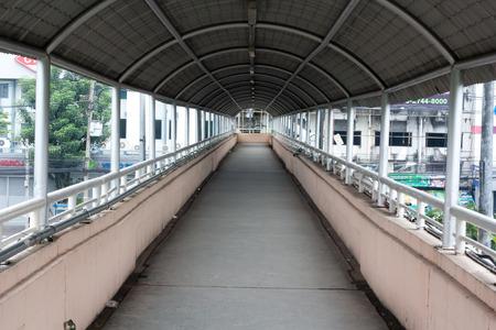 pedestrian bridge Stok Fotoğraf