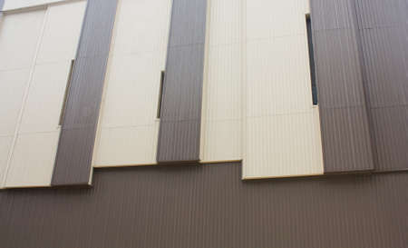 two tone: two tone building wall texture Stock Photo