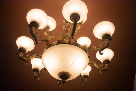 ceiling lamp with candescent light