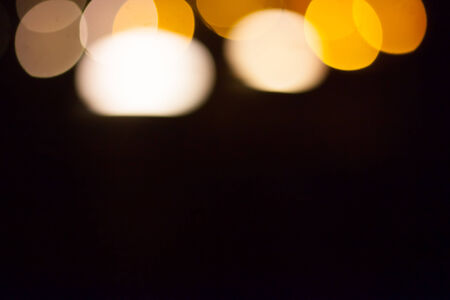 abstract bokeh pattern from nigth scene