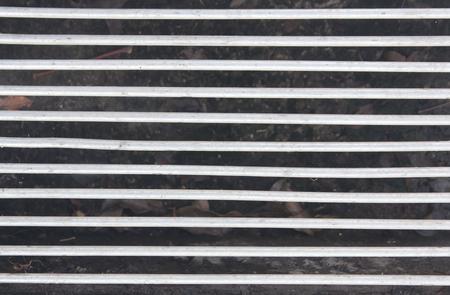 grates: solid steel grating pattern